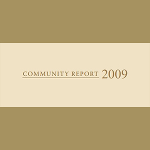Community Report 2009