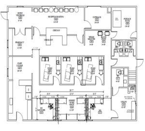 Highland Clinic Floorplan