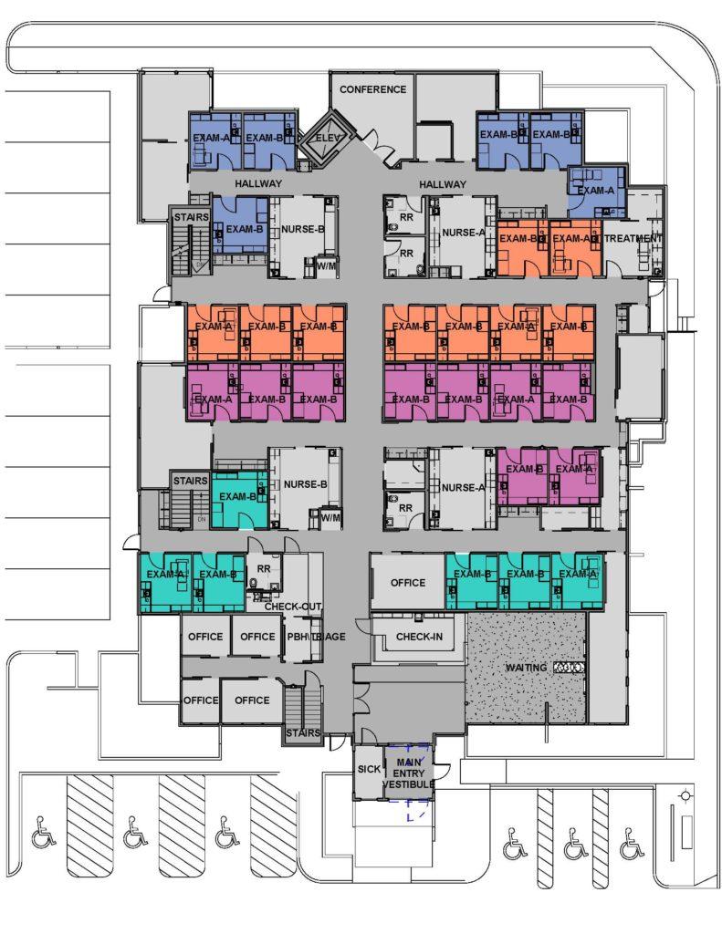 Yakima Pediatrics - Floor Plan