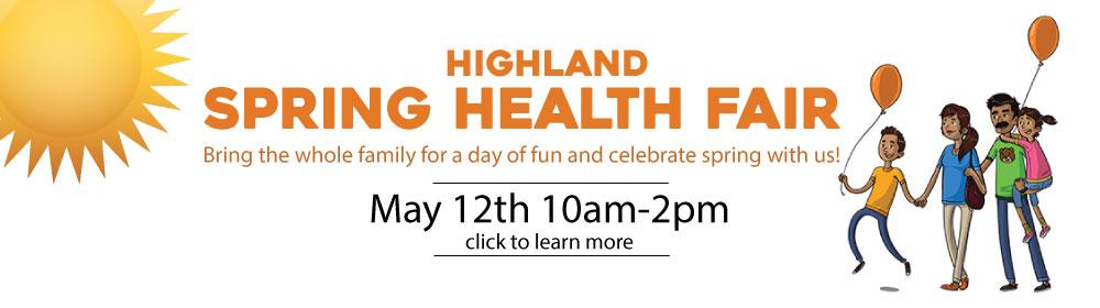 Highland Spring Health Fair 2018