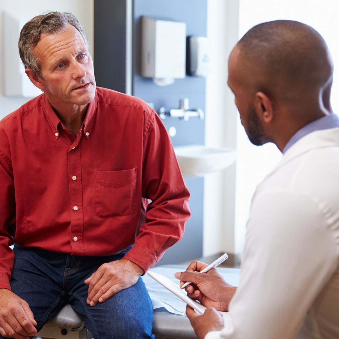 mens health month - doctor check up