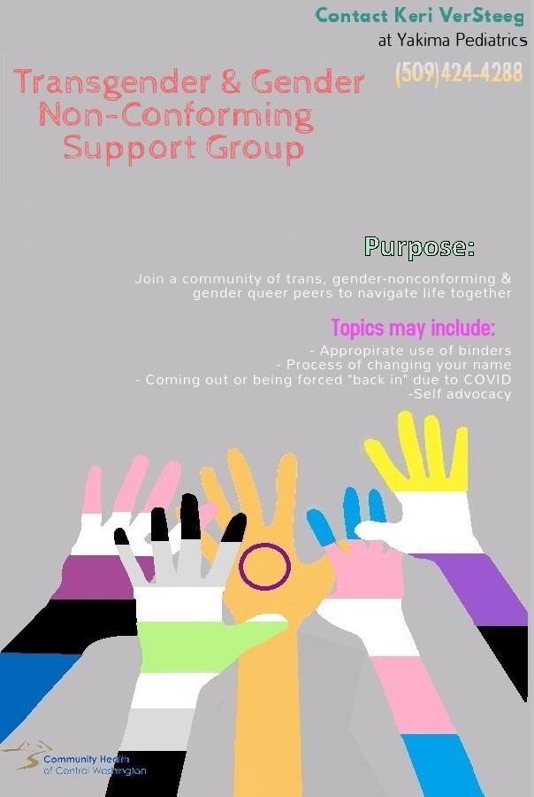 gender group flyer