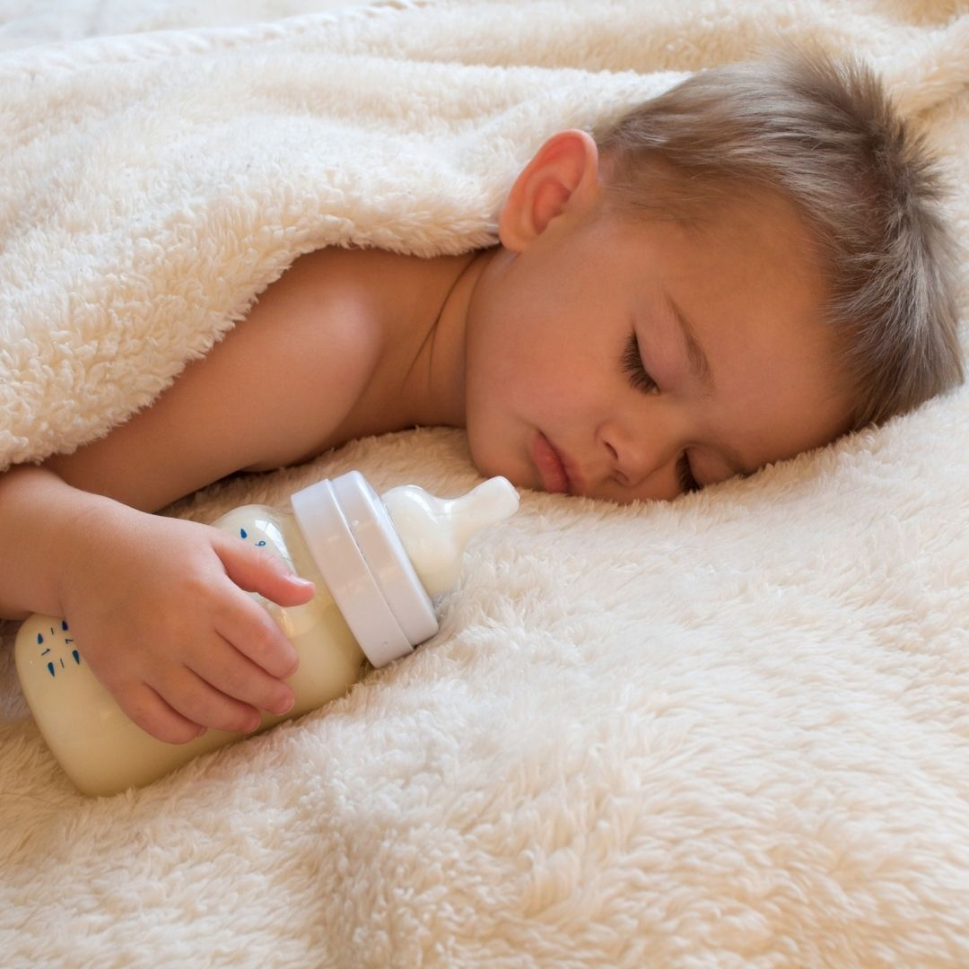 Oral Health Tips - babies and bottles